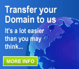 Transfer your domain to Fast Name and take advantage of all our great services